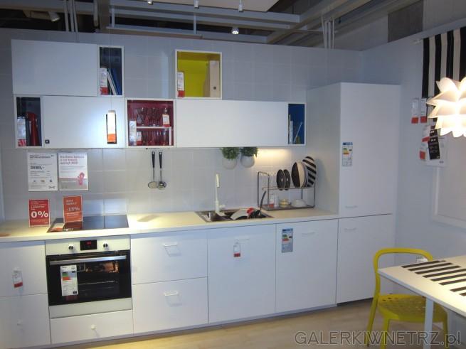 Meble kuchenne METOD/VEDDINGE w cenie 3880 złotych za szafki, szuflady, półki, ...
