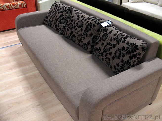 Sofa 3 osobowa Almix 3F, cena 1699PLN. Z opcją spania. Powierzchnia po rozłożeniu ...