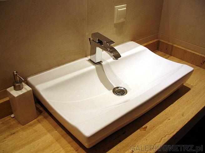 Nadblatowa umywalka Trend w kształcie prostokąta. Nowe trendy w ceramice łazienkowej ...
