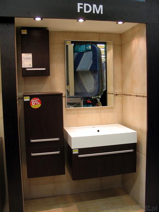 Nowoczesne Meble łazienkowe Fdm Dostępne W Trzech Wykonaniach