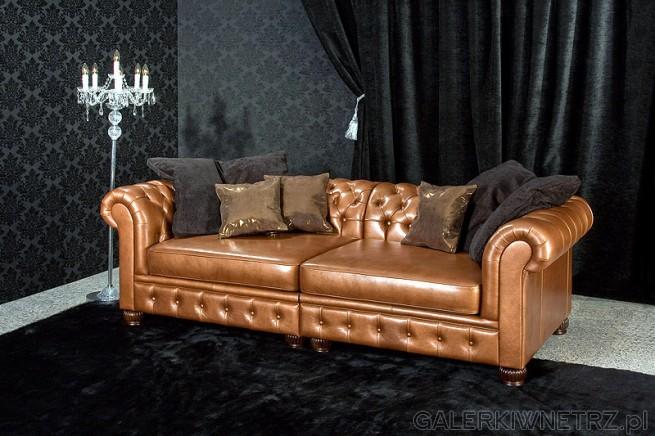 Chesterfield to wytworny model w stylu brytyjskiej klasy i elegancji. Wykonanie ...