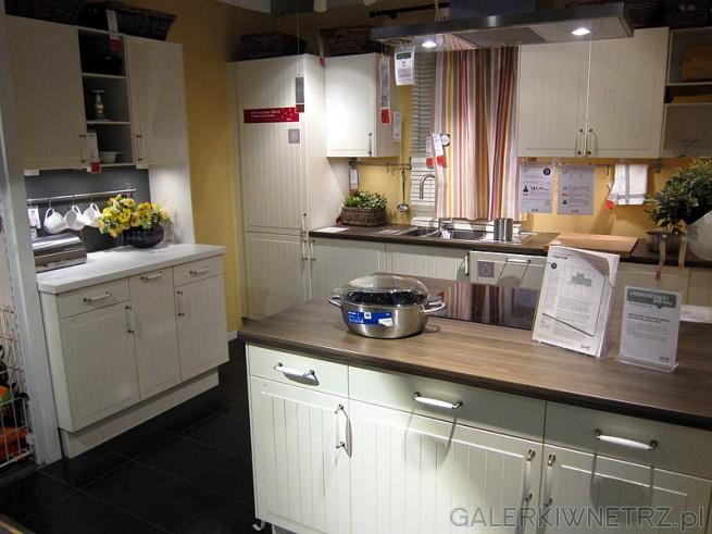 Kuchnia w kolorze białym - Ikea