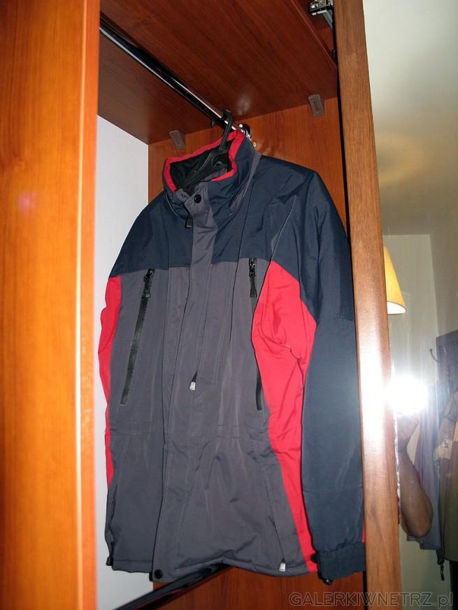 Jaka powinna być głębokość szafy do zabudowy(wnękowej) aby przechowywać kurtki? ...