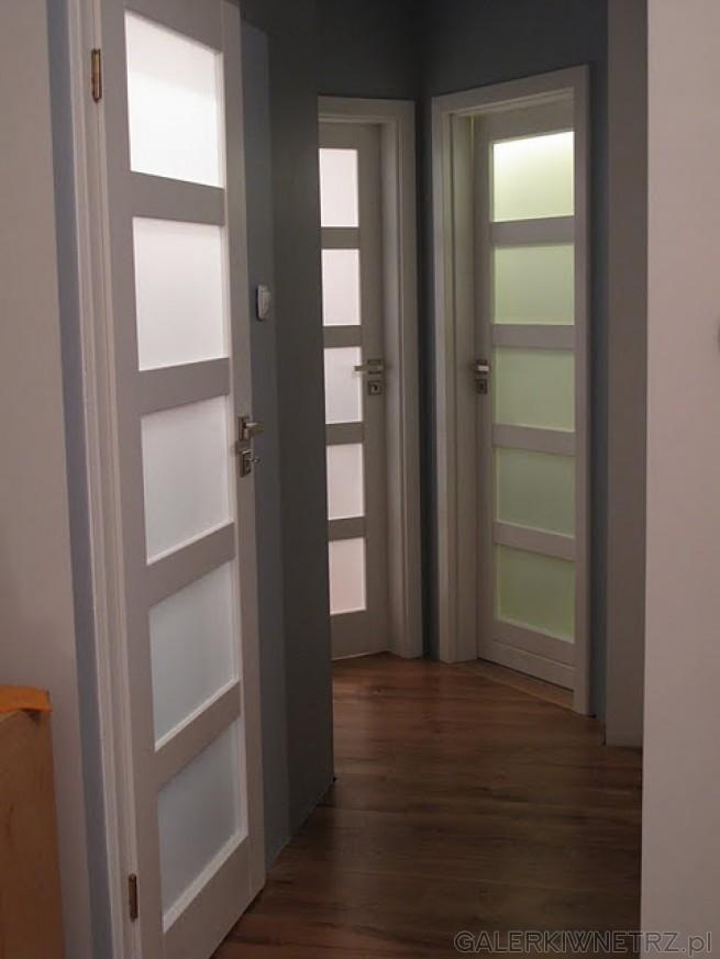 Proste drzwi w dobrym guście - są to drzwi Vasco Braga. Skrzydło oraz framuga ...