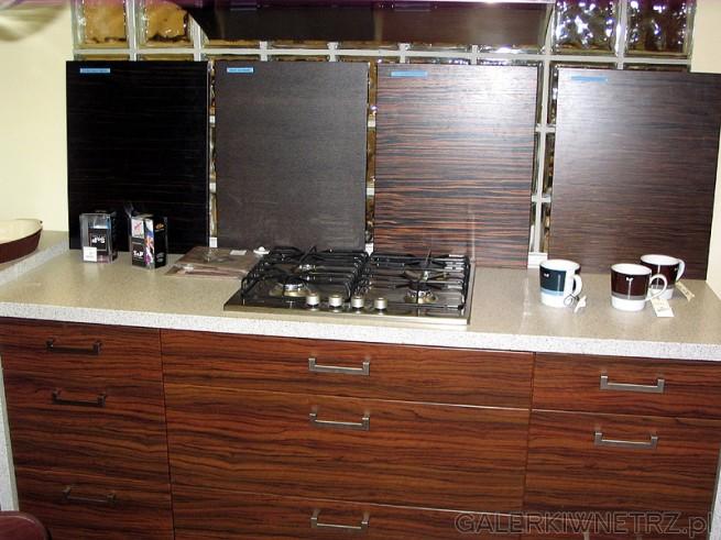 Różne fronty szafek kuchennych