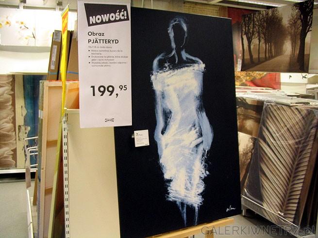 Obrazy w Ikei potrafią być ciekawe. Obraz PJATTERYD