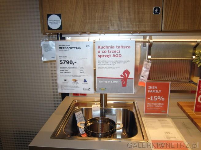 Meble kuchenne METOD/HYTTAN w IKEI w cenie 5790 złotych, wraz z promocją - wartość ...