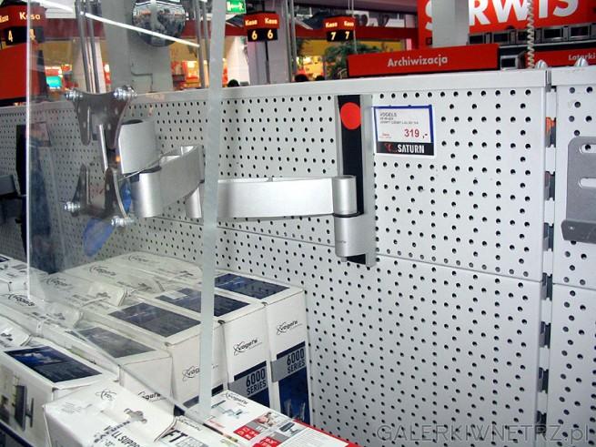 Wieszak do TV LCD - również firmy VOGELS. Niestety nie jest przeznaczony do dużych ...
