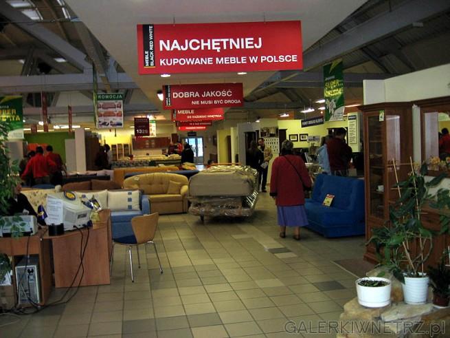Meble BRW Warszawa - duży salon w Jupiterze. BRW w/g reklamy to najchętniej kupowane ...