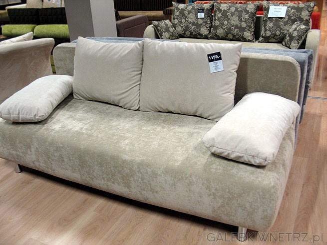 Sofa Lida 3DL. Materiał obiciowy Szenil. Wymiary wysokość/szerokość/głębokość: ...