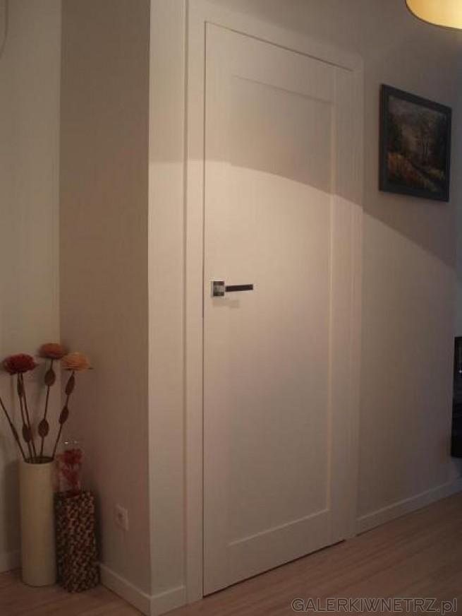 Propozycja drzwi wewnętrznych dla lubiących minimalizm i prostotę, bo tym się ...