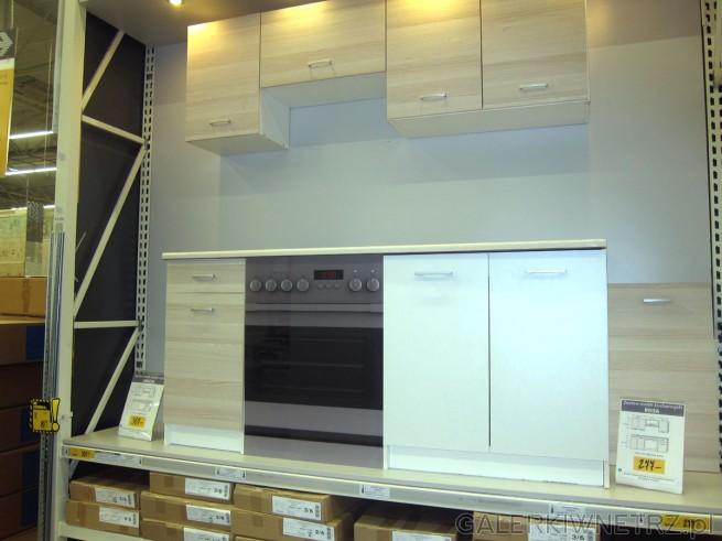 Zestaw mebli kuchennych ROSA to jasne, białe szafki oraz zestaw mebli kuchennych ...