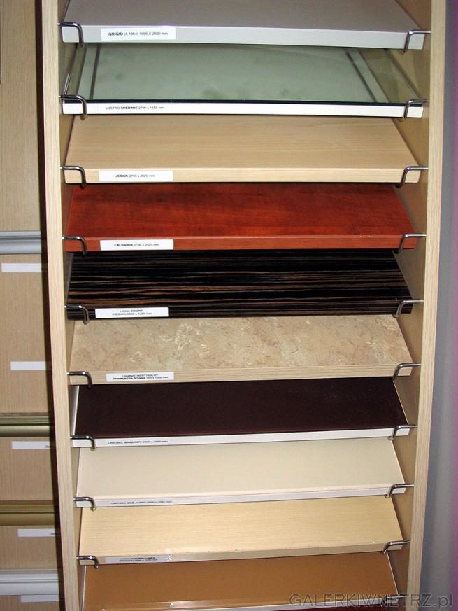 Możliwe kolory szafek (skrzyń). Kuchnie BRW