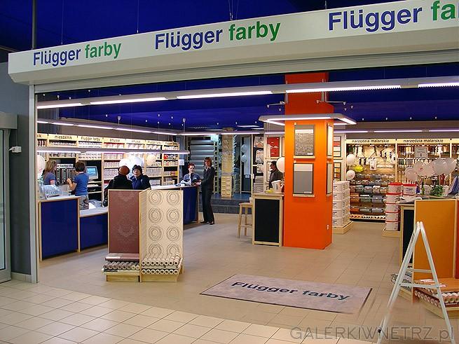 Flügger sklep z farbami. Duńska firma sprzedająca farby dekoracyjne, koloranty, ...