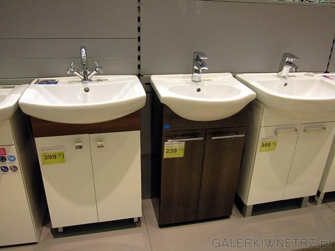 Leroy Merlin oferuje szeroki wybór komód łazienkowych. Szafki z wcięciem na ...