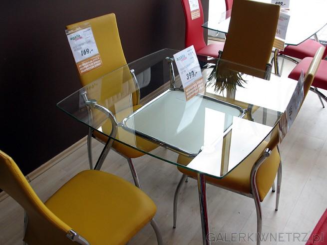 Szklany Stół Do Jadalni Wymiary 9090cmkrzesło Na
