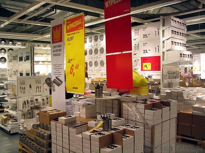 Wyprzedaż - Ikea się chwali, że ceny są nie do pobicia