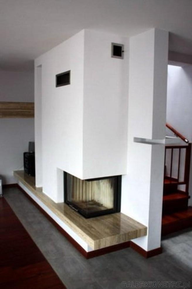 Ten prosty kominek spodoba sięosobom ceniącym minimalizm. Będzie z pewnościądobrze ...