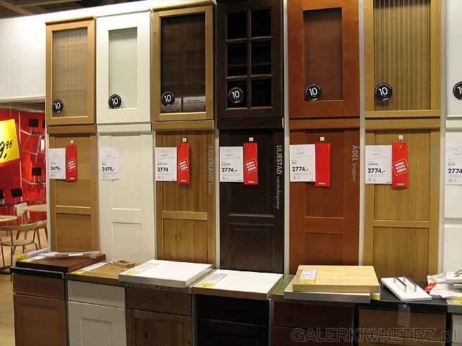 Wybór frontów do szafek kuchennych. np ADEL, Fektum Liliestad