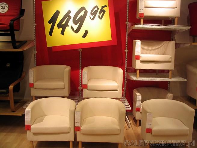 Fotele Ikea w cenie 149,95
