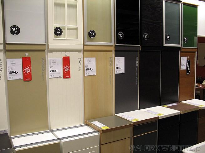 Fronty do szafek kuchennych z Ikei