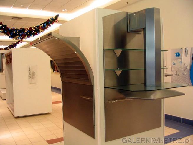 Okapy kuchenne i duża ich ekspozycja. Nowoczesna stylistyka, do topowych kuchni. ...