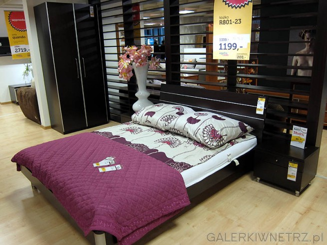 Łóżko - sypialnia Meble Agata R801-23, cena po przecenie 1199PLN. Szafki nocne osobno ...