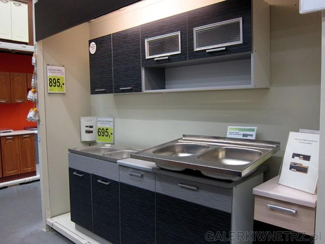 Kuchnia Moreno kasztan 895PLN. W komplecie: szafki: stoj膮ca 80 cm zlewozmywakowa ...