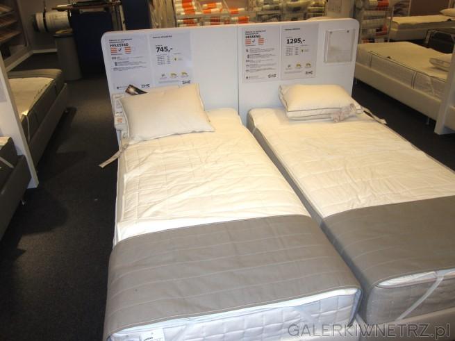W ofercie Ikei znajdziemy materac ze sprężynami kieszeniowymi HYLESTAD w rozmiarze ...