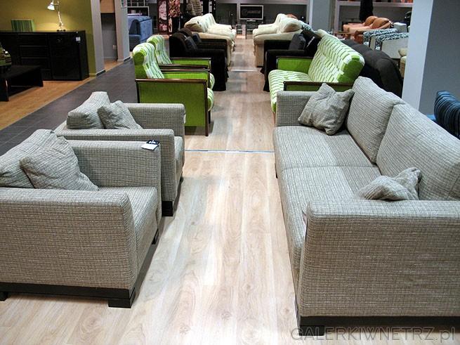 Fotel Soland ES w cenie 939PLN (za sztukę), i sofa z opcją spania. Cały zestaw ...