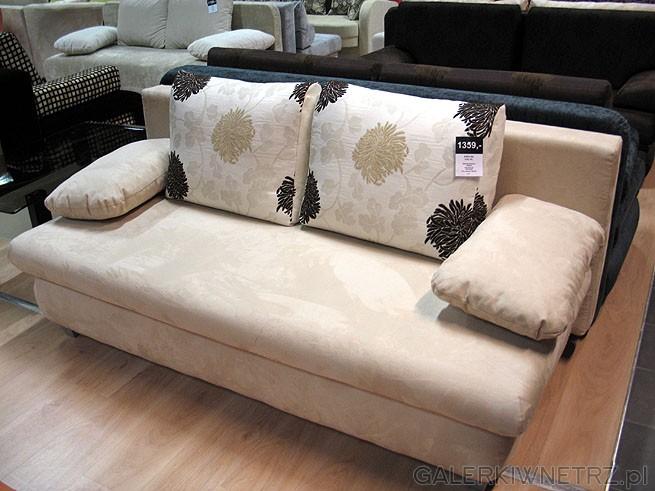 Sofa 3DL Zuza, materiał obiciowy Szenil. Powierzchnia spania 148x192cm. Cena 1359PLN.. ...