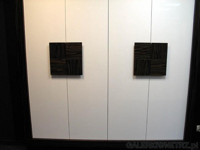 Front szafy - biały