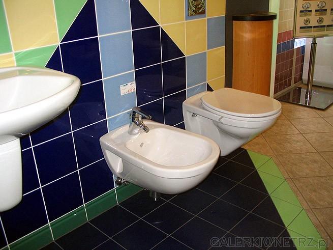 Glazura typu blokowego. Czyli przeciętna łazienka bez specjalnego pomysłu. Ale oczywiście ...