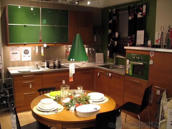 Meble kuchenne z Ikei Faktum/Nexus. Kolor miodowo-brązowy. Cena kuchni ze zdjęcia ...