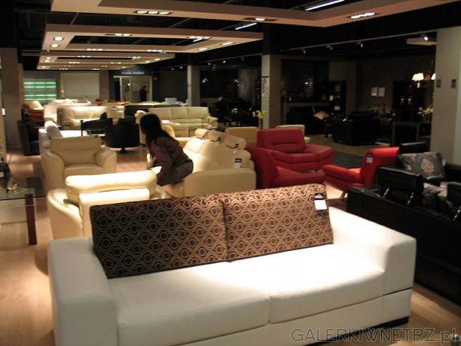 Meble w salonie BRW: sofa z możliwością spania