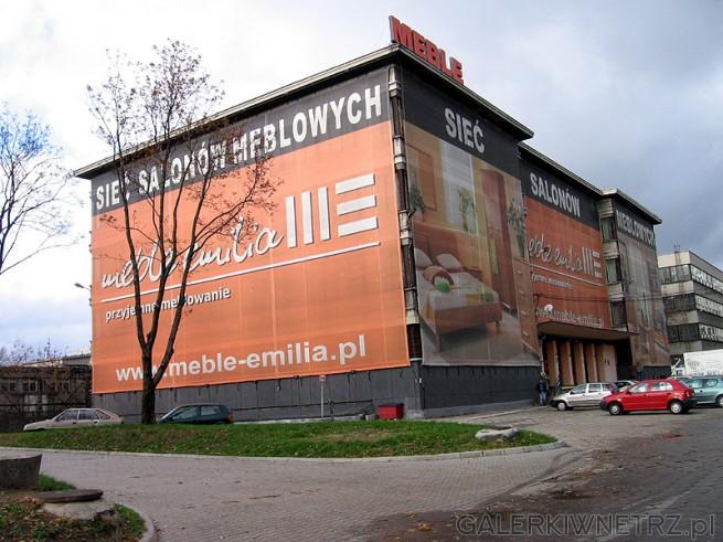 Meble Emilia - Sieć Salonów Meblowych reklamujące się z hasłem