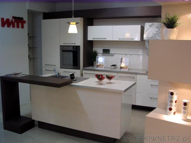 Kuchnia w bieli - wygląda sterylnie. Kuchnia Mebel Rust Kuchnie Witt.