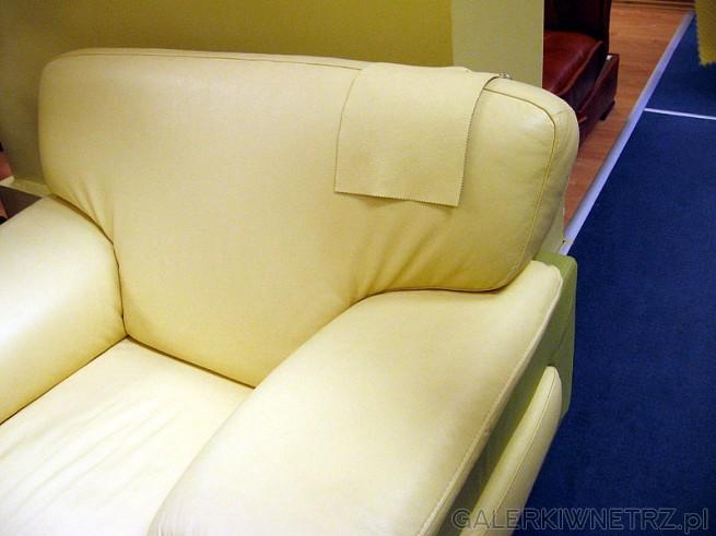 Wypoczynkowy fotel ze skóry
