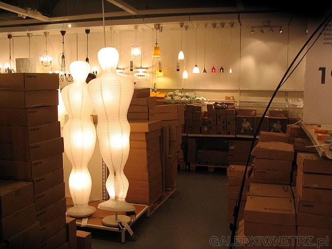 Lampy Ikea z abażurem - w kształcie ludzika