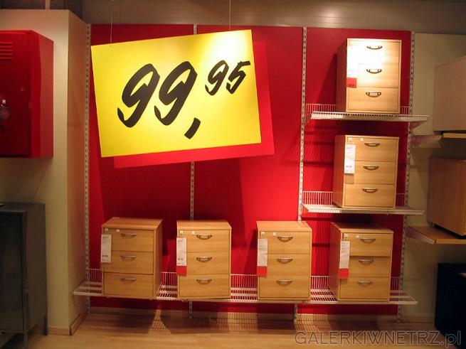 Szafki z szufladami w cenie 99,95PLN