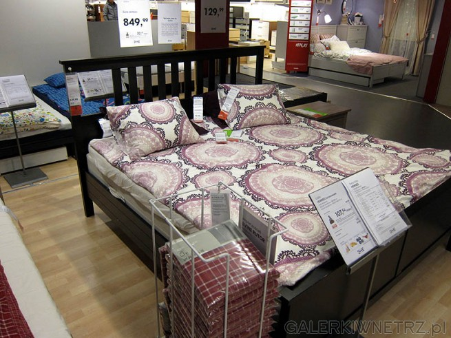 Łóżko Hemmes, 180cm, cena ramy łóżka 850PLN