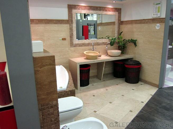 Przykład łazienki z Leeroy Merlin