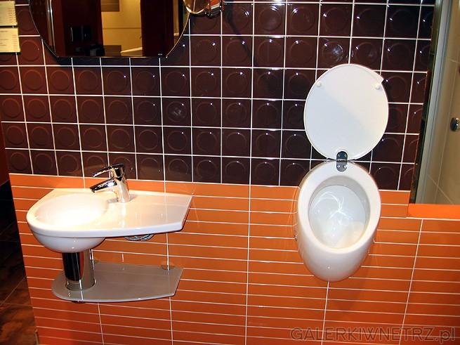 Ekstrawaganckie artykuły do łazienek - pisuar i ciekawa umywalka