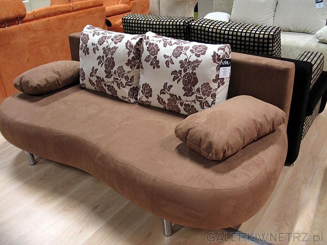 Sofa Ferry 3DL GR-2. Obicie z materiału Alkatex. Powierzchnia do spania po rozłożeniu: ...