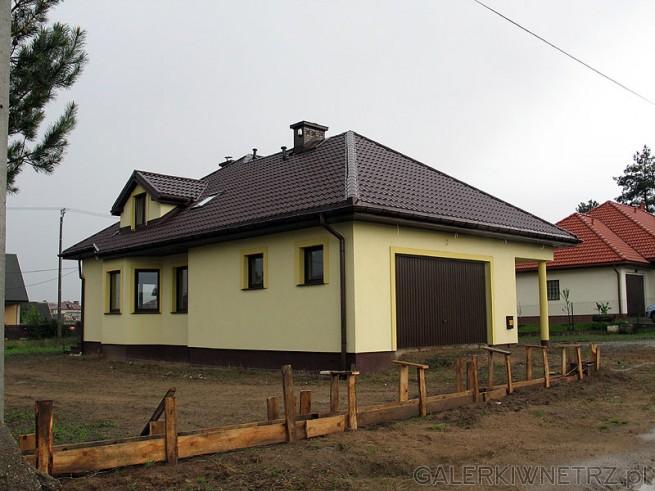 Dom parterowy z poddaszem użytkowym