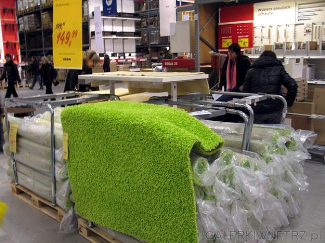 Ikea dywan z długimi