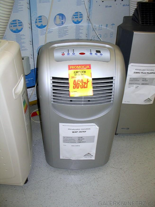 Klimatyzator przenośny: głośny, zajmuje w mieszkaniu cenne miejsce. Ale jednocześnie ...