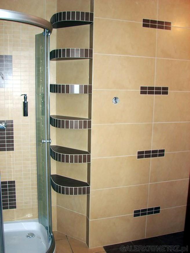 Półki Z Glazury W łazience Galerkiwnetrzpl