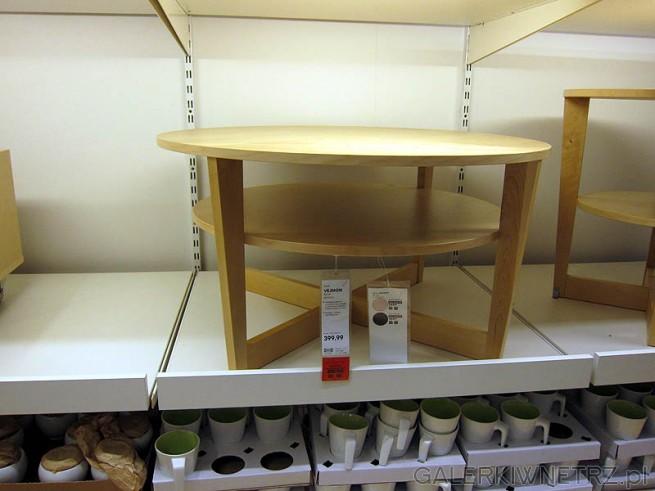 Stolik okrągły Vejmon, cena 400PLN