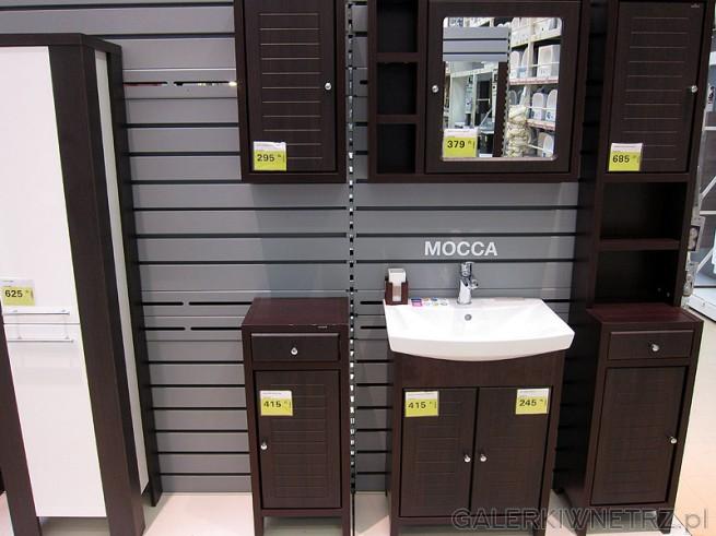 Leroy Merlin proponuje nietypowe meble do łazienki, stylizowane na starodawne. ...